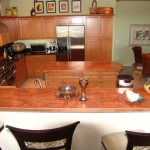 Roger's copper countertops
