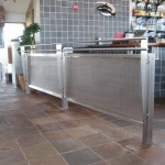 Stainless Handrail at Anthony's