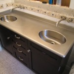 Stainless Steel Bathroom Countertop