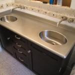 Stainless Steel Bathroom Countertop