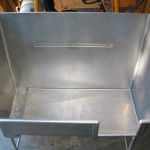 Stainless Steel Dog Washing Tank 003