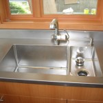 Stainless Steel Double Bowl Sink.