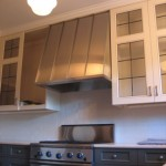 Stainless Steel Hood with standing seams 1