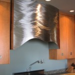 Stainless Steel Hood with wave design 2