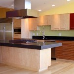 Stainless Steel Island Hood and Duct Cover