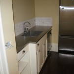 Stainless Steel top with tile